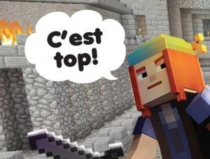 Design Code Build: Minecraft Modding and French