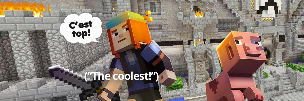 Design Code Build: Minecraft & Virtual Robots