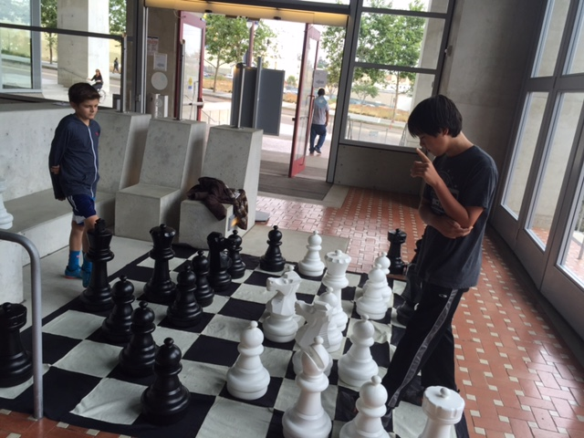 Giant Chess Break