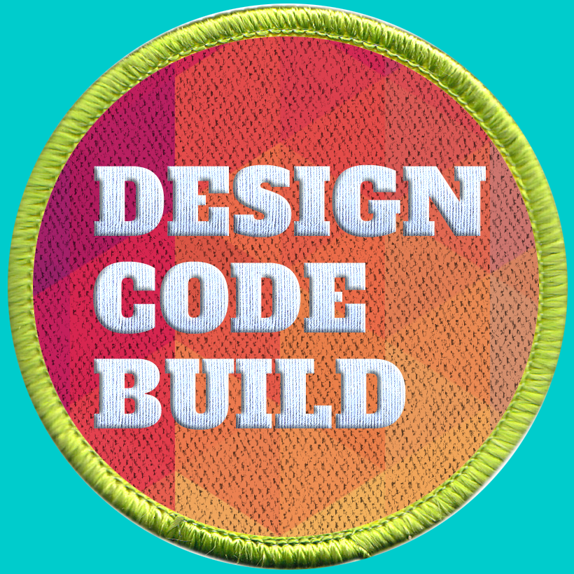 The Design Code Build Girl Scout Badge Program